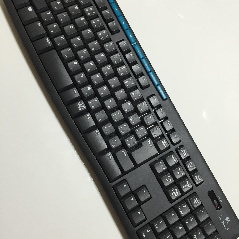 ロジクールキーボードK275買いました!K120とも比較!